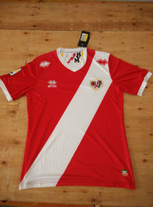 14 15 Rayo Vallecano Maillots de football 2014 2015 Vêtements de plein air T-shirt de football jersey Chemises Vallecano