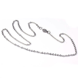 Ожерелье Цепь Из Нержавеющей Стали Ожерелье Цепь Карабинчиком Крест Цепь Мода Шарм Ожерелье Аксессуары Женщины Мужские Ювелирные Изделия