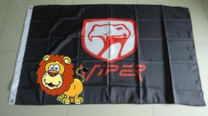 viper flag for car show, viper car banner,90X150CM size,100% polyster 100% polyester 90*150cm