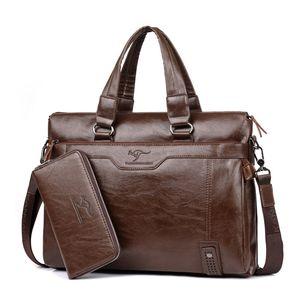2017 Nuovi uomini di marca borse borsa a tracolla singola spalla uomini borse a tracolla messenger borse da uomo borsa computer geniune in pelle
