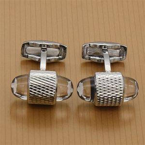Nuevos Hombres de lujo Gemelos de la llegada Gemelos Gemelos de calidad superior Gemelos Caja de gemelos Regalo al por mayor y al por menor