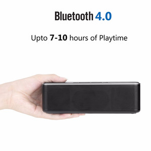 W-King 16W Super Bass Bluetooth Speaker X8 Portable Wireless and Wire Metal Loudspeaker Support TF Card AUX for Mobile Phone