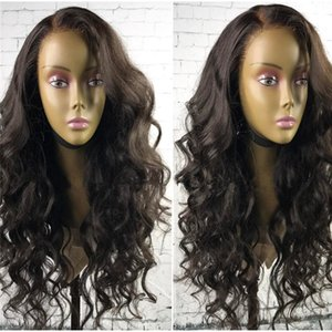 Glueless Full Lace Wigs For African American Women Virgin Malaysian Human Hair Lace Wigs With Bangs Wavy Full Lace Wigs With Baby Hair