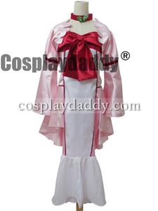 Code Geass R2 Cosplay Nunnally Costume Governor Dress