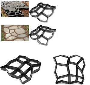 Garden decorated tools mold for concrete DIY Stone plastic mold pathways paving mold, pathmate shovel 43*43*4CM
