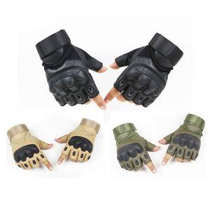 Открытый спортивный мотоцикл велосипедные перчатки Paintball Airsoft стрельба охота тактические полупальники перчатки NO08-069