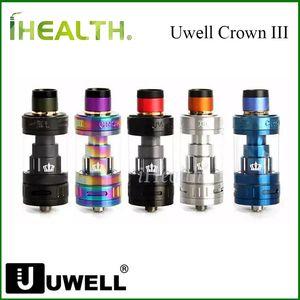 Serbatoio atomizzatore Uwell Crown 3 100% originale 5ML Sub Ohm Tank più facile e pulito per i clienti per ricaricare la spedizione veloce