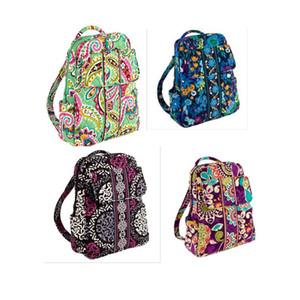 Kleiner rucksack campus rucksack baumwolle blume schultasche rucksack schultasche travel college 100% echt