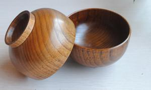 Yiwu bol en bois en gros bol japonais E6 bol diamètre 11.5 CM en bois enfants vaisselle en bois