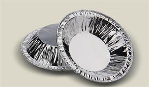 핫 판매 프로 모션 250pcs / 팩 주방 베이킹 컵 금형 케이크 도구 계란 타트 금형 DIY 라운드 일회용 알루미늄 호일 타트 파이 팬