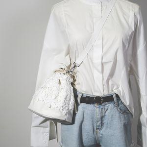 2017 nuevo estilo bolsos de moda para mujer Moda para mujer Lady Retro Lace Leather Handbag Tote Ladies Crossbody Shoulder Lace Bags envío gratis