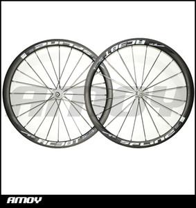 По Продажам! 38 мм глубина углерода колеса 25 мм ширина довод / трубчатые колеса для дорожного велосипеда.