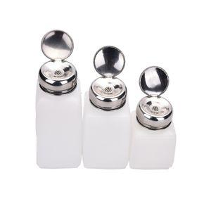 Vente en gros - bouteille de pompage de solvant de dissolvant de vernis à ongles liquide 100ml / 200ml / 250ml