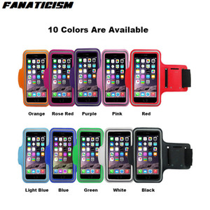 Sport Arm Band Case for iPhone 11 pro XR Xs Max 7 6s Plus Samsung S20 Waterproof Running Phone Bag Pouch Phone Cover