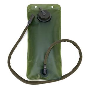 mochilas de hidratación 2.5L al aire libre del bolso de agua del ciclo de agua de TPU boca de la bicicleta Deporte vejiga excursión que acampa