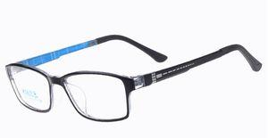 Frauen / Männer Azetat TR90 optische Rahmen Myopie-Glasrahmen für Verordnung SG031