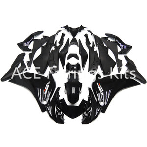 Fit für Honda CBR 250R 2011-2014 CBR250RR Injection ABS-Kunststoff Motorrad Fairing Kit Karosserie CBR 250 RR 11 12 13 14 Black v9