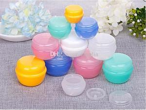 Pilz-Form 10ML / 10G Gesichtscremetiegel pp. Netter kosmetischer Behälter-Beispielplastikverpackung mit innerem Deckel