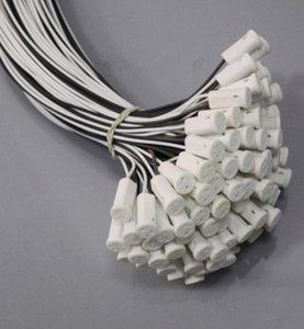 G4 Base Crystal Bulb Lamp Halogen Bulb Ceramic Socket Lampholder Plug 100pcs