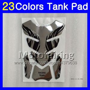 23 Renkler 3D Karbon Fiber Gaz Tank Pad Koruyucu Için SUZUKI SV650S SV400S SV1000S SV650 S SV400 S SV1000 S SV 1000 650 3D Tank Cap Sticker