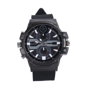 Super HD 2304X1296 detección de movimiento H.264 2K reloj de la cámara 32G correa de silicona mini videocámara