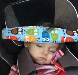 Cinturino di fissaggio Supporto per la testa del capretto del bambino Cintura per dormire Cinturino per pisolino di sicurezza regolabile Sedile per auto Cinturino per il pelo di sonno per bambino