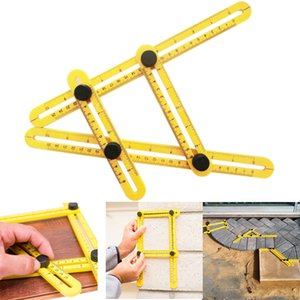 Multi-Angle Ruler Template Tool Measuring Instrument Four-Sided Rulers Mechanism