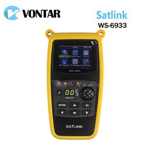 [Original] Satlink WS6933 DVB-S2 FTA CKU Band Digitale Satelliten Finder Meter Mit 2,1 zoll LCD Display
