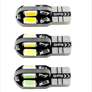 20 x Canbus Error T10 Blanc 8 5730 SMD LED Lumière Ampoule