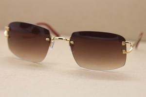 Neue Art und Weise Qualität polarisierte Sonnenbrillen für Frauen UV400 Schutz Sonnenbrille New 3.899.175 Randlos Qualitäts neuer Art und Weise Weinlese