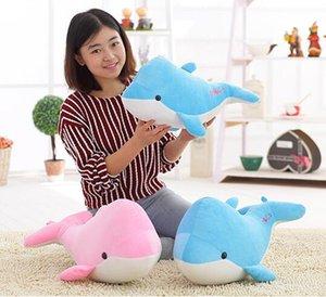 50 cm venta caliente Nuevos productos de alta calidad delfines muñeca de peluche juguetes de peluche delfines muñeca presentes amantes 1 unids