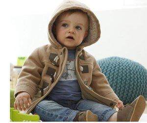 Bébé Garçons Veste Vêtements Nouveau Hiver 2 Couleur Manteau Manteau Épais Enfants Vêtements Enfants Vêtements Avec Hooded Retail Chaud