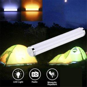 Alta calidad USB Luz de camping al aire libre USB multifunción lámpara de camping Herramienta de emergencia al aire libre Mosquito herramienta Carpa Accesorios