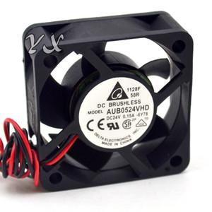 Delta AUB0524VHD 5020 50mm 5CM DC 24V 0.15A el inversor de la caja de la PC del servidor Ventilador