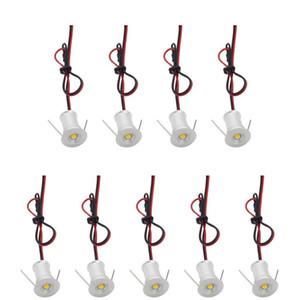90pcs 1W 15mm Mini LED unter Kabinett-Licht Downlight-Boden-Licht vertiefte Treppenlicht-Scheinwerfer