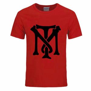 Ünlü Film Scarface Baskılı Logo Moda T Shirt Erkekler Tony Montana T-Shirt Yaz Kısa Kollu O Boyun Erkekler DIY-0053D