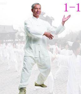 Китай Тан костюм хлопок shadowboxing мужской кунг-фу спортивный костюм Тай-Чи одежда (комплект)#1-5