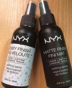 New Arrival NYX Cosmetics Make-up setting spray 60ml Matte Finish   DEWY Finish Long-lasting Durable DHL Free