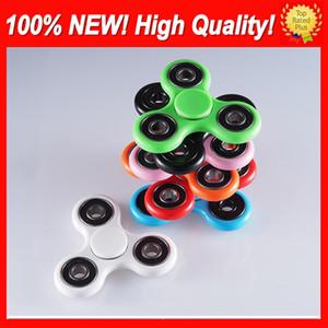 Sıcak EDC HandSpinner Parmaklarınızın Spiral Fidget Spinner El Spinner Akrilik Plastik Fidgets Oyuncaklar Gyro Dekompresyon Anksiyete Fidget Spinner Oyuncak