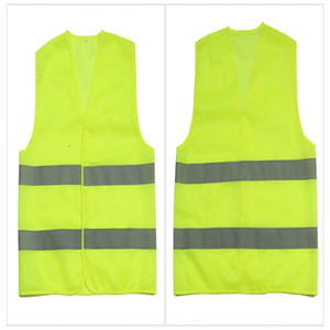 Haute visibilité Gilet de sécurité de travail de construction d'avertissement du trafic réfléchissant de travail Gilet vert réfléchissant Vêtements de sécurité