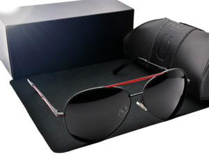 Mode Männer Wome Goggles Driving HD Polarisierte Brillen Marke Designer Outdoor Sport UV400 Schutz Sonnenbrille Retro Shades 8580 Gläser