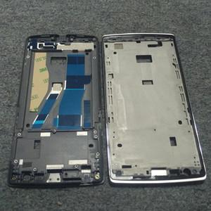 Para One Plus One Housing Front Chasis medio Chasis Chasis LCD Touch Holder + 3m Pieza de repuesto adhesivo Nuevo