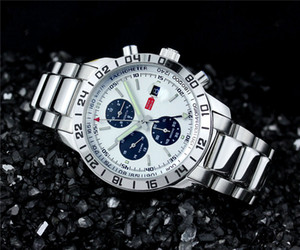 100% di alta qualità Sport uomini orologio meccanico automatico orologi in acciaio inossidabile moda orologio da polso 549