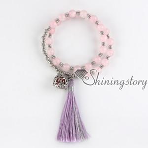 branelli di preghiera del braccialetto del nappa (braccialetto) diffusore dei monili del braccialetto dei medaglioni dei monili monili healing healing dei branelli di preghiera