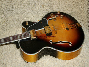 Custom Shop Classic Sunburst L-5 Very Beauty Jazz Guitar Alta calidad Envío gratuito