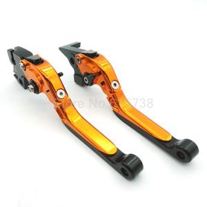 % 100 Yepyeni Motosiklet CNC Ayarlanabilir Katlanabilir Uzatma Motosiklet Frenler Debriyaj Kolları KTM Duke 125 200 390 RC 125 200 390 için
