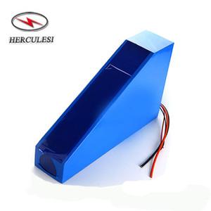 3000W 2500W 60 Volt Bicicletta elettrica batteria al litio 60V 28Ah Triangolo Li Ion 16S8P 18650GA Ebike potente batteria Tasse gratuiti