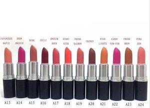 FREE SHIPPING 24 PCS FREE SHIPPING MAKEUP NEW twenty-four colors lipstick
