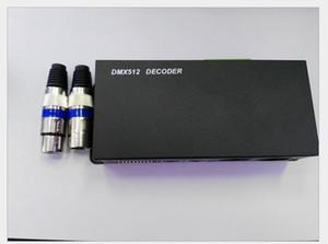DC 12 V 24 V DMX512 Decodificador de 3 Canais 24A Controlador DMX para 3528 5050 5630 RGB CONDUZIU a Luz de Tira Módulo Lâmpada Rígida Bar Luzes CE ROSH
