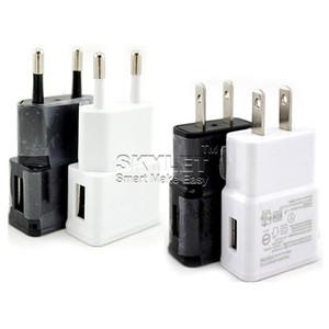 USB 벽 충전기 5V 2A 1A AC 여행 홈 어댑터 US EU 플러그 유니버설 스마트 폰 안 드 로이드 전화에 대 한 삼성 S7 S8